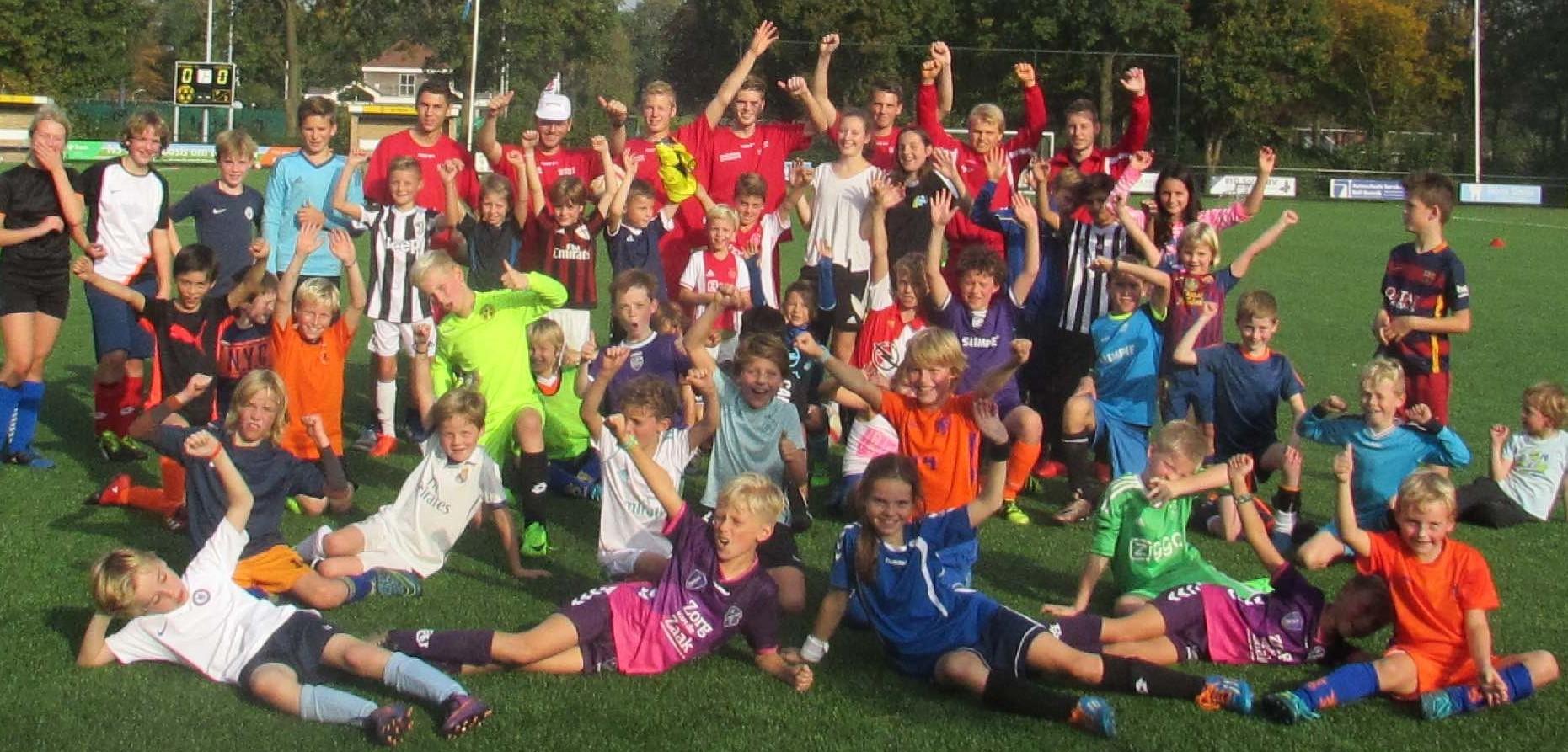 Uniek jeugdvoetbal evenement in de voorjaarsvakantie