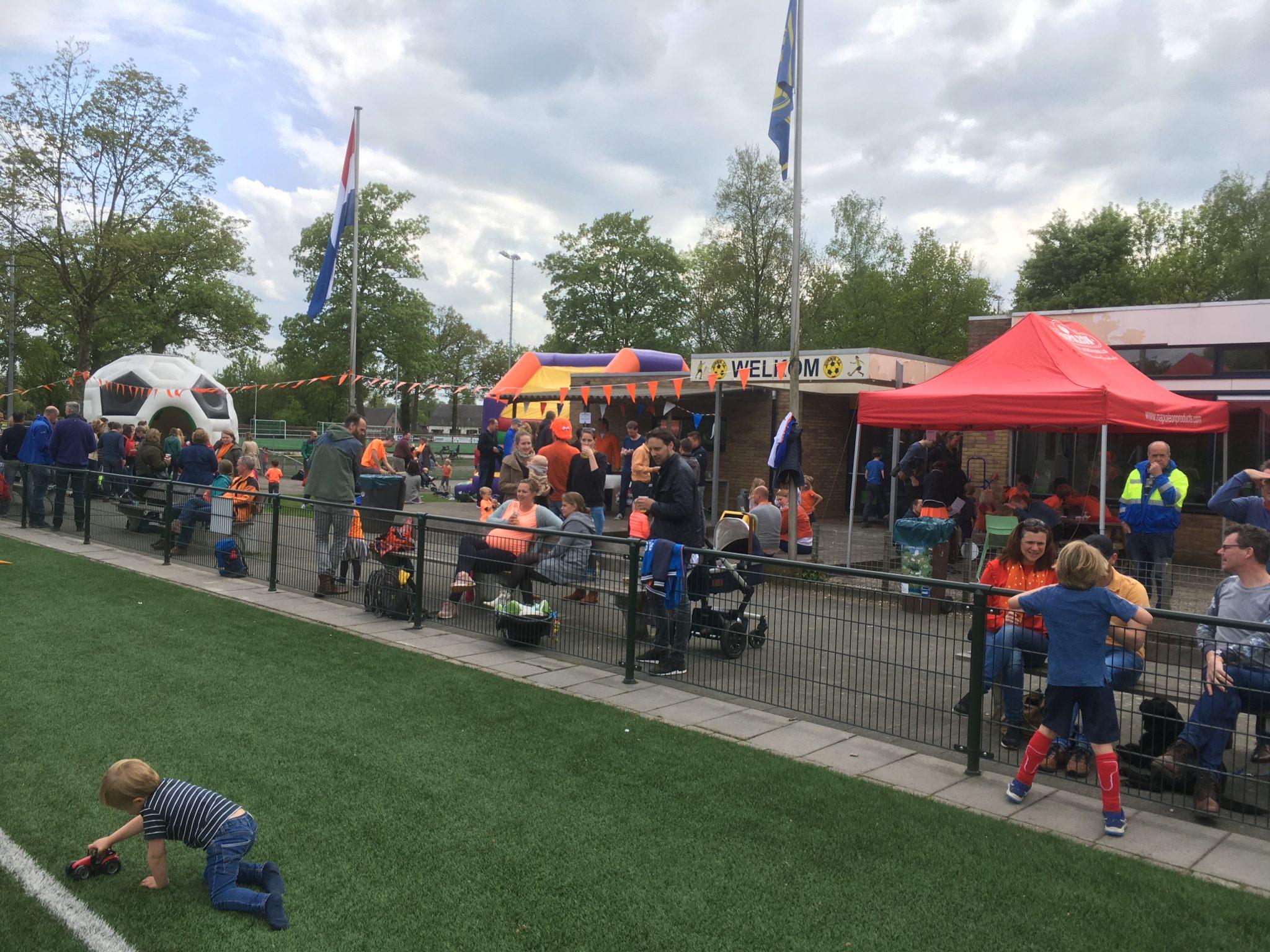 Geslaagd Koningsdag Oranjefeest