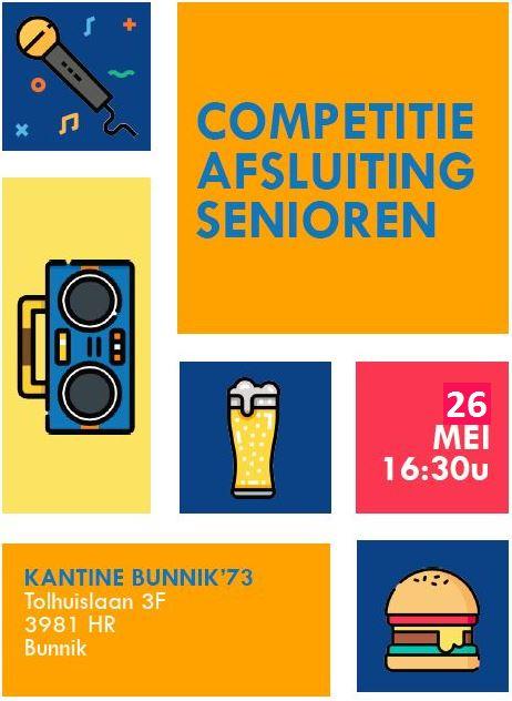 Competitieafsluiting Senioren