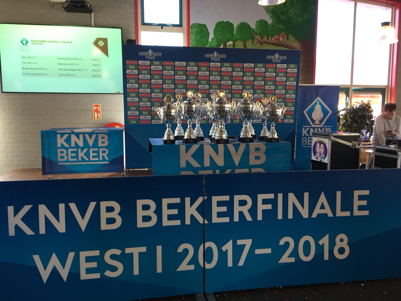 O15-1 wint de KNVB beker