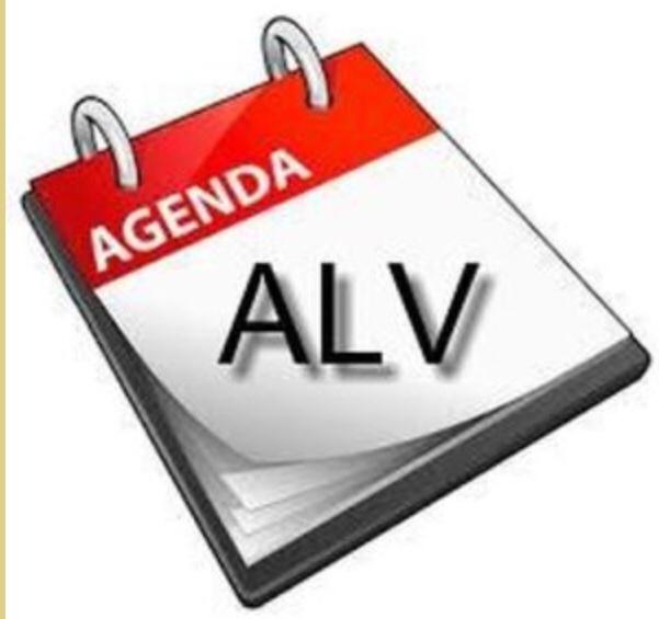 Uitnodiging en agenda ALV 19 november 2021